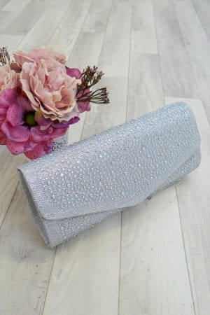 Diamante Glitter Clutch - 5 colours