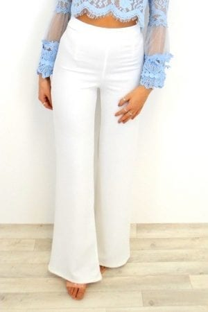 Bailey Trousers - White