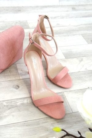 Kim Barely There Heels - Pink