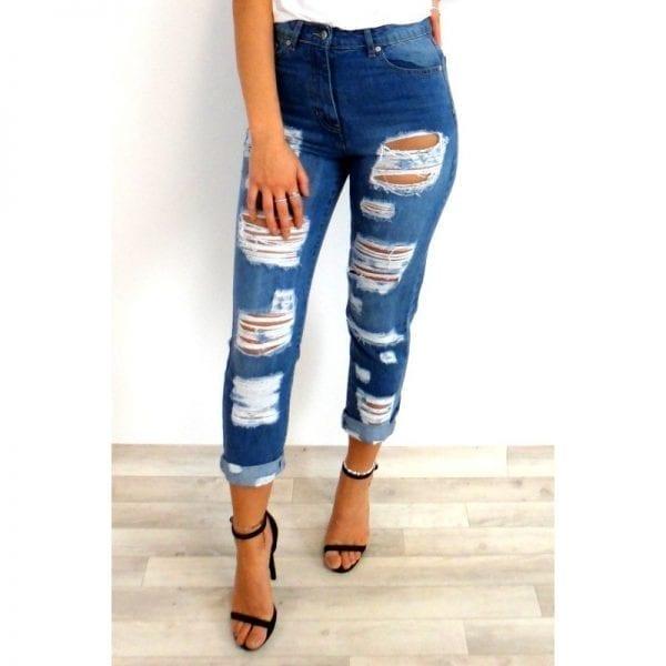 Alize Boyfriend Jeans - Blue