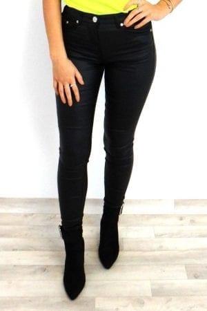 India Wax Jeans - Black