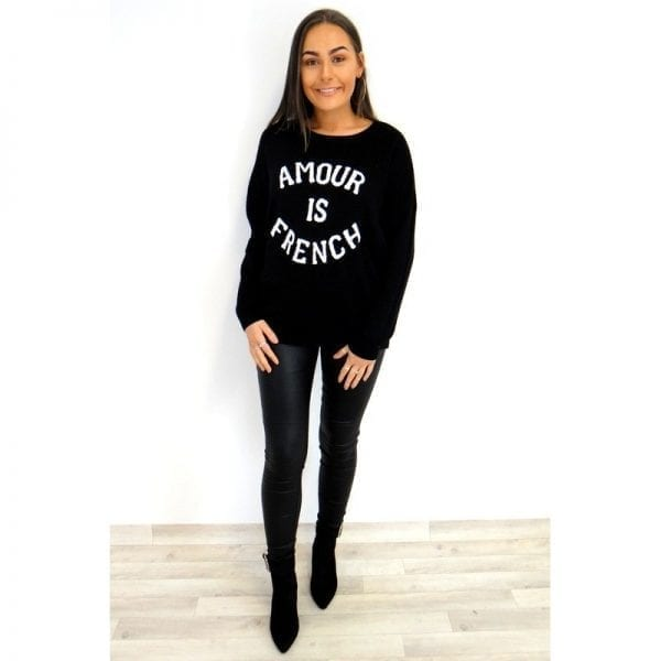 French Jumper - Black