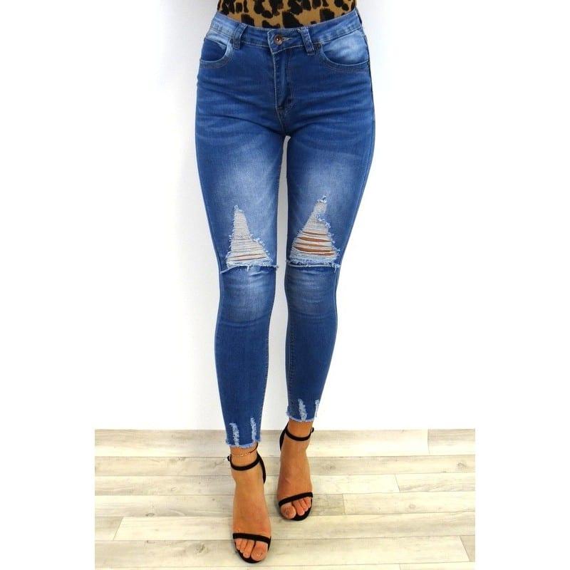 142177ec2e Ashley Ripped Jeans - Blue - My Blog