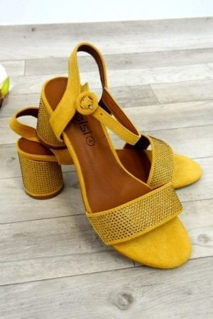 Tammy Dia Heels - Mustard