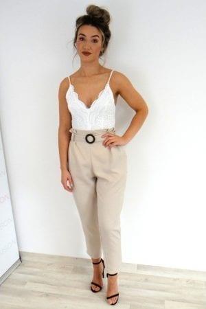Sasha Trousers - Beige
