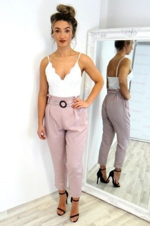 Sasha Trousers - Rose